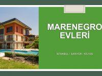 SATILIK VİLLA, Marenegro Evleri Kilyos, Palaciore Tipi Villa, 554m2 8+2
