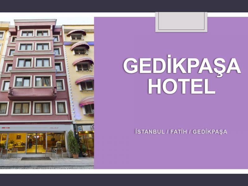 SATILIK HOTEL, 19 Odalı, Gedikpaşa, Fatih