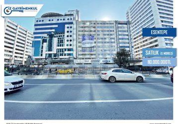 Şişli SATILIK BİNA Esentepe Büyükdere Caddesinde 7.000m2 Komple Bina