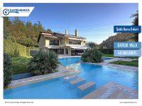 SATILIK VİLLA Bahçeköy Saklı Koru Evleri 1.100m2 Villa Arsası 1.648m2
