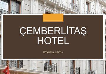 Çemberlitaş SATILIK HOTEL 28 Odalı 3 Yıldızlı Hotel
