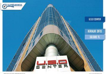 Maslak KİRALIK PLAZA KATI U.S.O Center 950m2