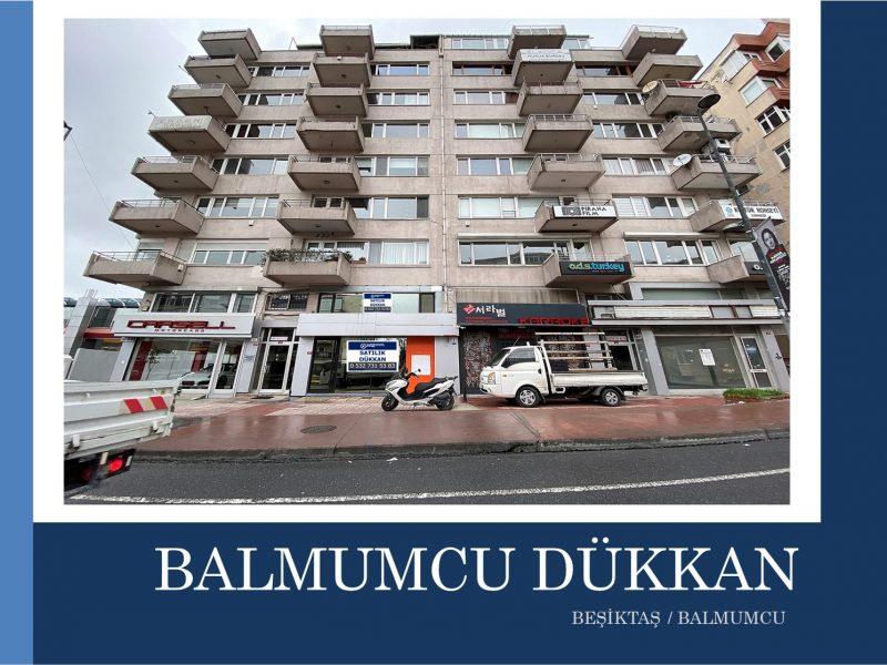 Beşiktaş SATILIK DÜKKAN Barbaros Bulvarı Üzerinde 350m2 3 Katlı