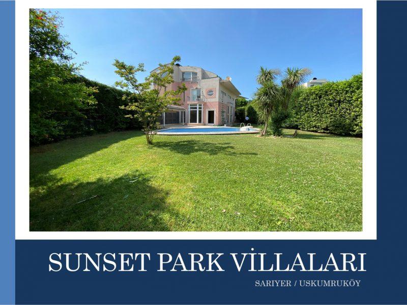 Sarıyer SATILIK VİLLA Uskumruköy Sunset Park Villaları 325m2 5+1