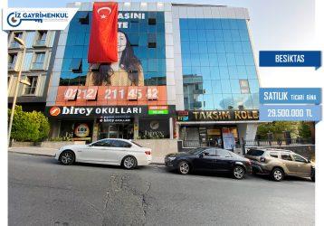 Beşiktaş SATILIK TİCARİ BİNA Balmumcu 3.235m2
